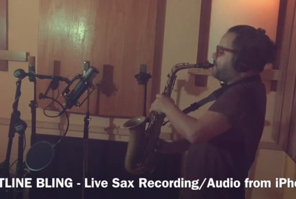 record saxophones for your next project