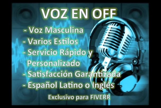 record a Professional VoiceOver in LATAM Spanish