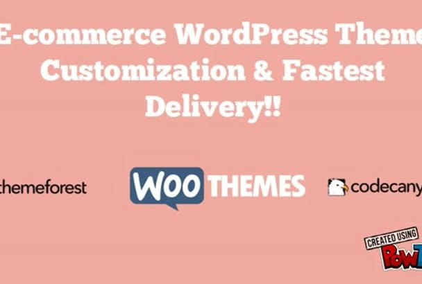 make awesome eCommerce website