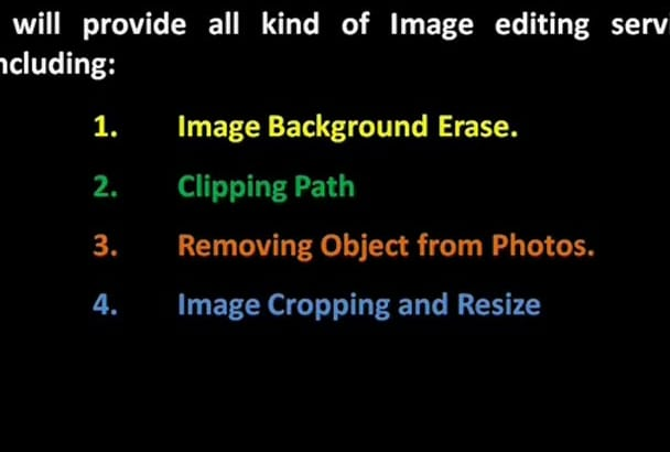 image Editing, Background Erase