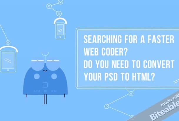 convert psd to html with pixel perfect by bootstrap