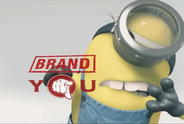 creat funny video promotional with minion within 12h