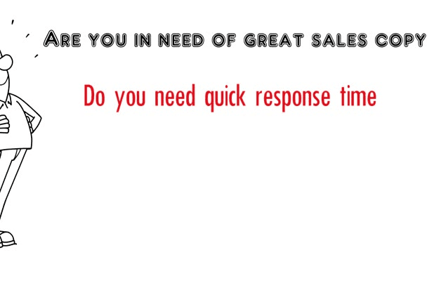 write a POWERFUL sales letter