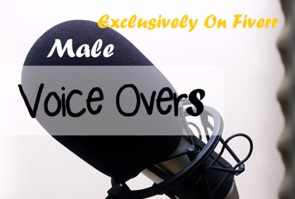 record any male voice over
