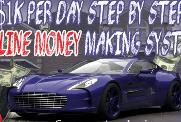 show you my step by step system that makes 1K per day