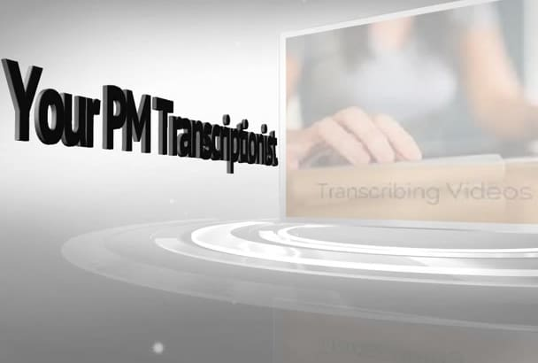 transcribe 20 minutes of audio or video in 24 hours