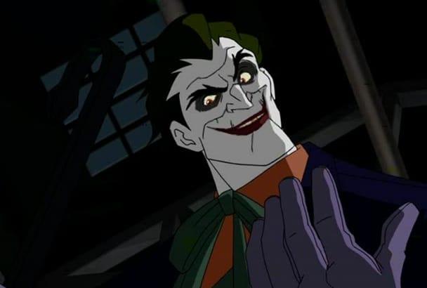 voice acting  The Joker  animated series