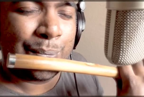 play Bamboo Flute or Recorder for your project