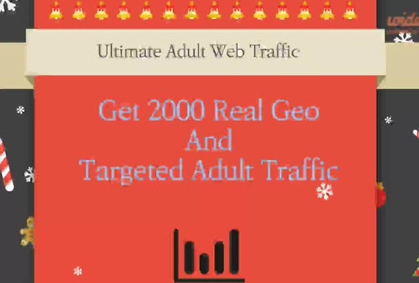 provide 12000 genuine adult traffic