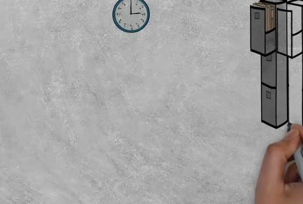 create eye catching Whiteboard Animation Video