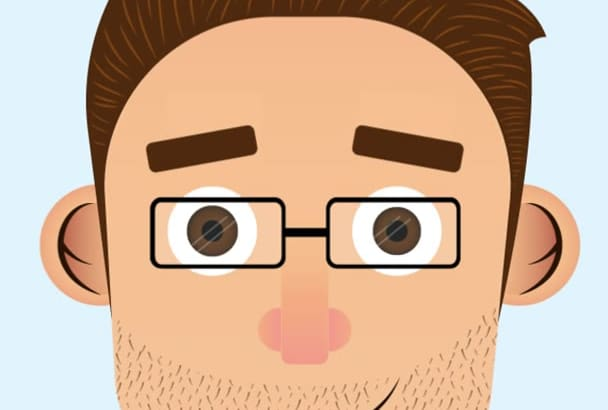 animate your face to show it in your social networks