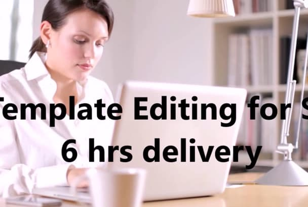 customise and edit videohive After Effects Template in 12hrs