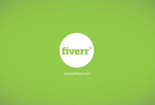 create minimal logo opener
