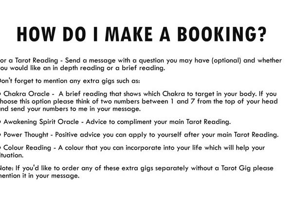 do a Specific Tarot Reading