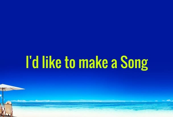 create a quirky catchy uplifting jingle