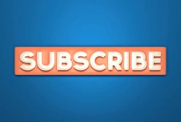make you 5 youtube outros for subscribtion