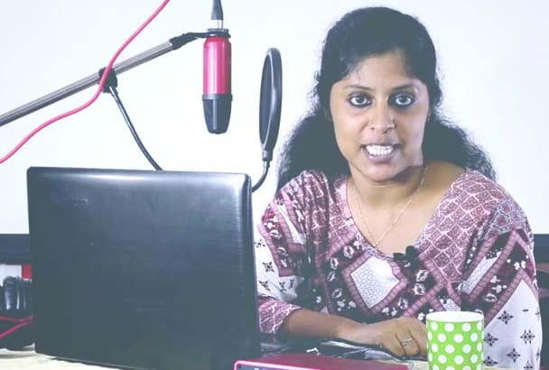 do Female voice overs in Malayalam