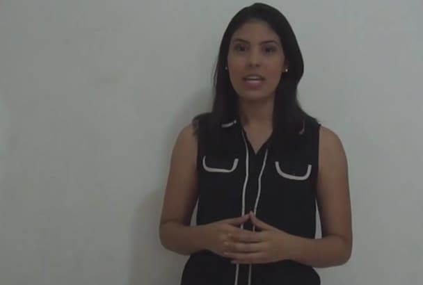 make you a natural promotional or testimonial video