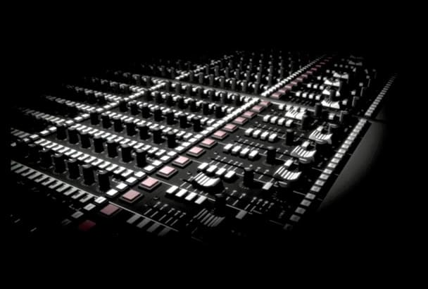 professionally mix, master, or create any piece of audio