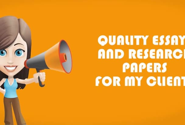 deliver a high quality research paper