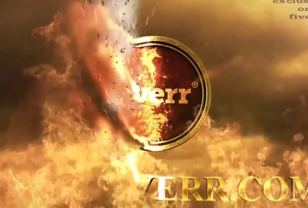 make Epic Fire Reveals Your Logo