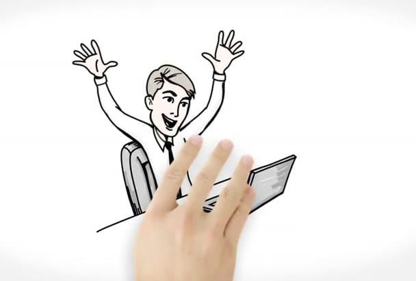 create a Custom Whiteboard Animation
