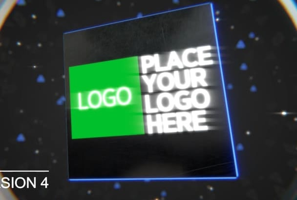 create your Sci Fi Technology Logo Intro Video