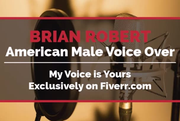 deliver 225 Words American Male VoiceOver Today