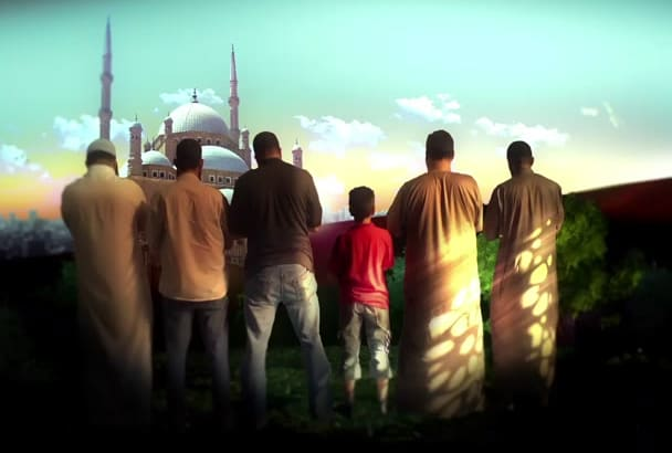 do special Eid greeting video animation