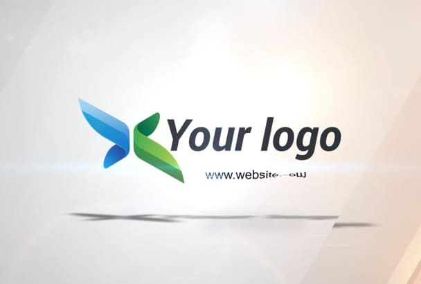 segments Flying Logo Reveal