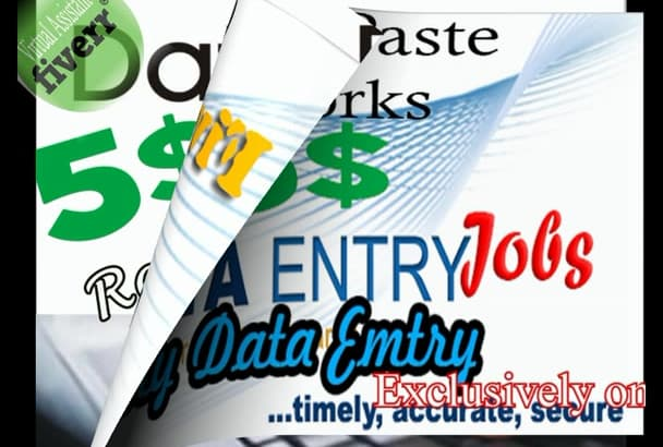 do Data Entry Research do as Virtual Assistant