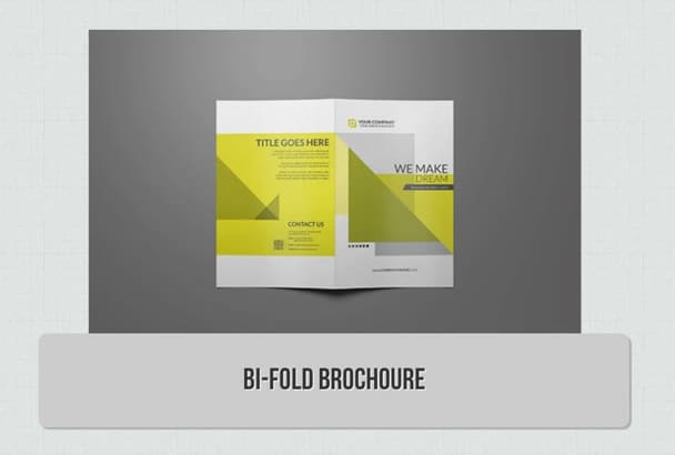 make any type of brochure