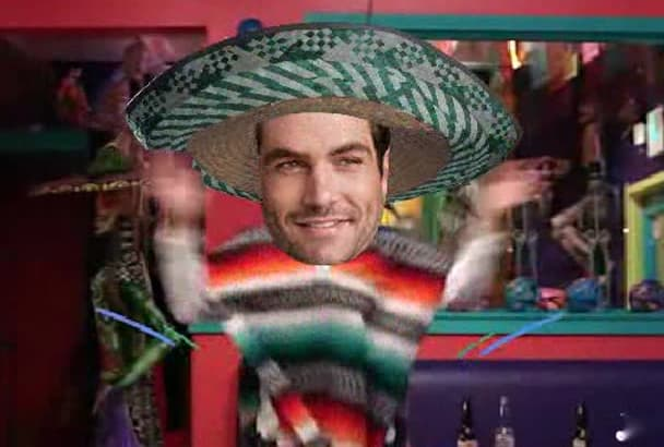 make Tequila  Solo Video Starring You