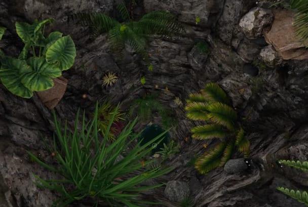 do AMAZING video intro nature jungle logo animation