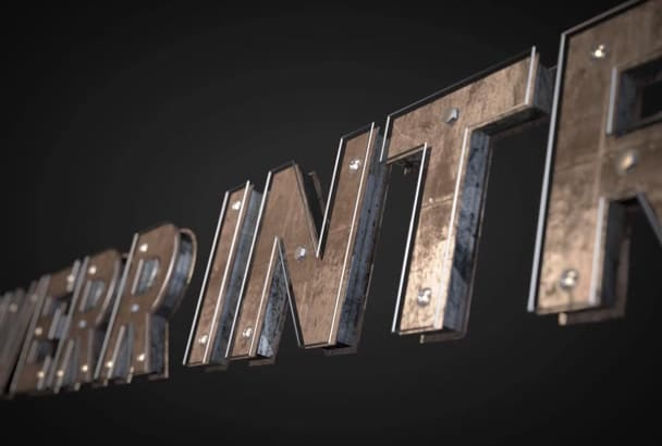 create 5 Professional Logo Animation Video Intros in 1080P