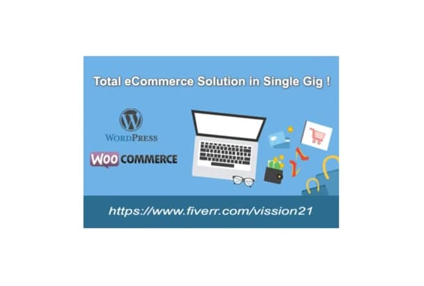 develop wordpress ecommerce website for your business