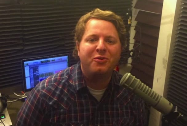 record a young professional american male voice over TODAY