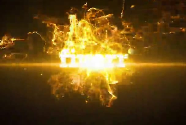 create this cool burning logo animation in one hour