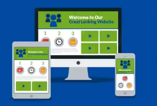make your site responsive or mobile friendly