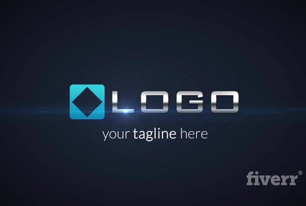 do 3D Particle Explosion Light Logo Sting HD Animation Intro