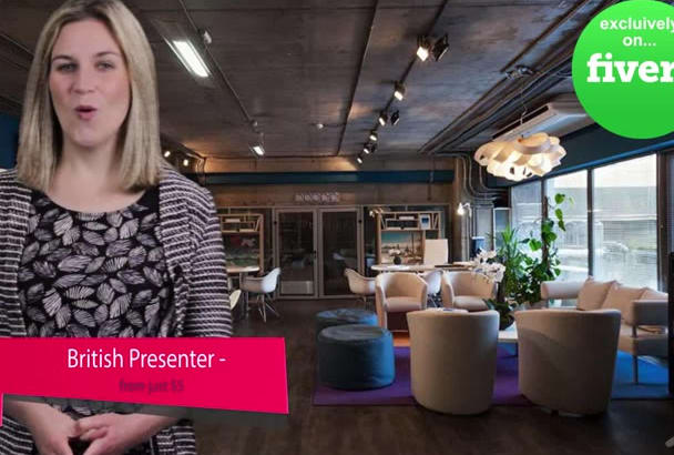 be your AWESOME British Video Spokesperson Presenter