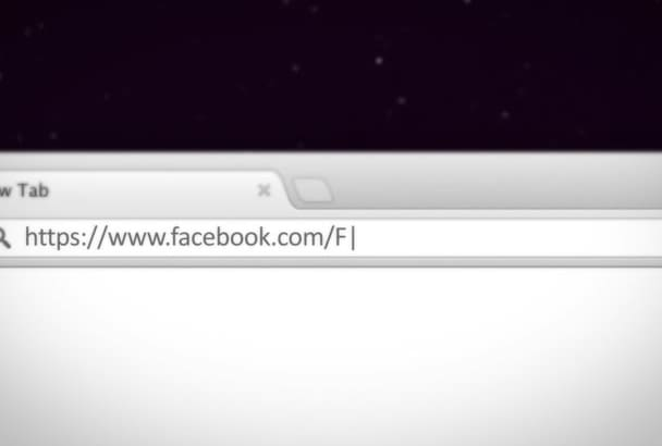 type and animate your facebook profile with SFX