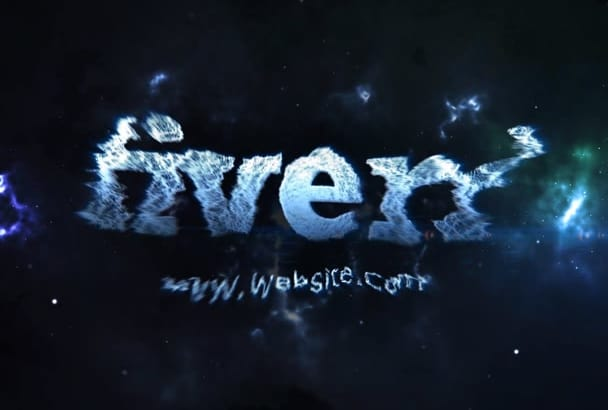 create Cinematic Intro with DISPERSION Effect In Space