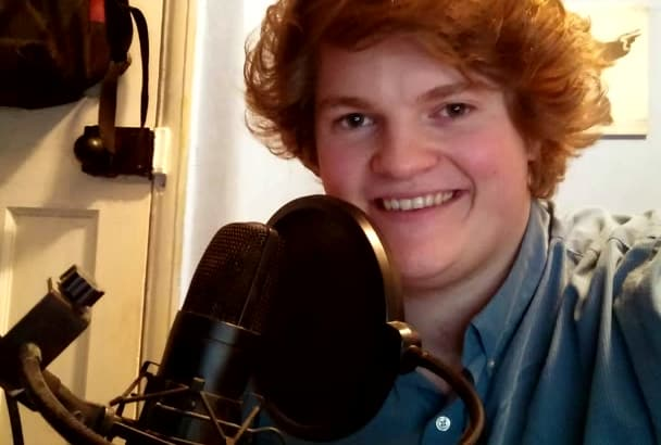 record any voice over you require BRITISH