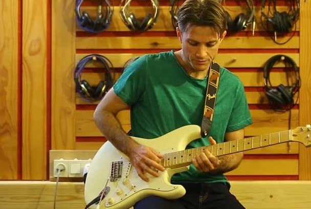 play electric solo for your song blues or rock
