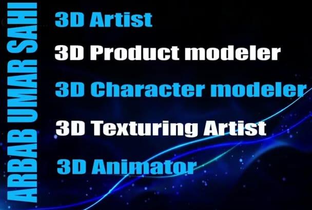 make professional 3D Model