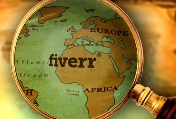 create an Epic World Map intro with your LOGO