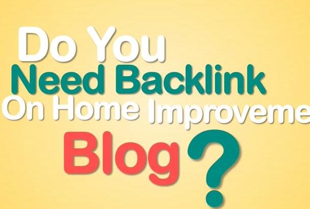 do Guest Post on DA63 home improvement blog