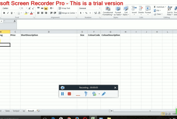 create any excel reports and automate the process