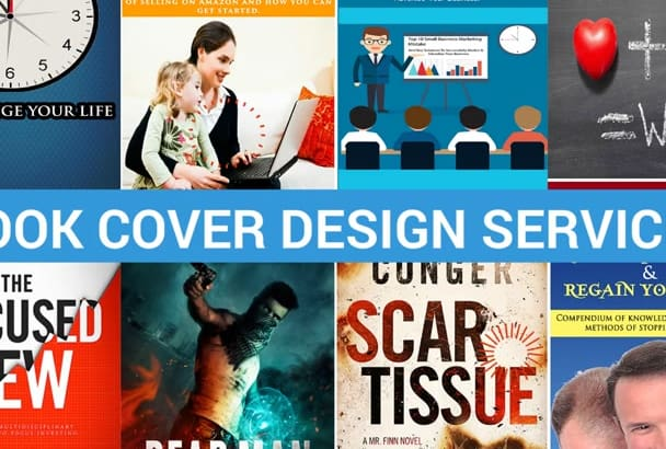design catchy eBook Or Kindle Cover Within 24 Hours